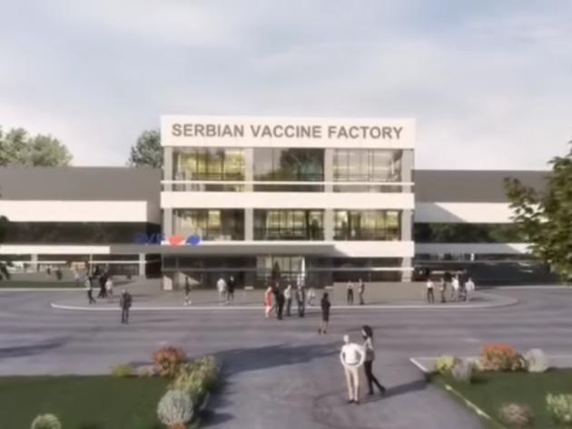 Izgradnjom fabrike Sinofarmovih vakcina razvija se privredna zona prema Aerodromu Nikola Tesla
