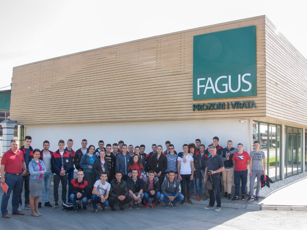 Fagus haus posjetili učenici Mašinke škole iz Prijedora