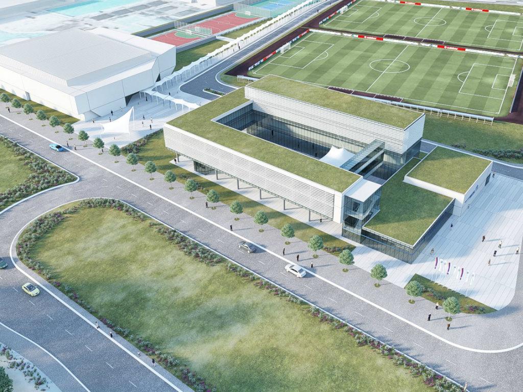 Niški Fakultet sporta i fizičkog vaspitanja seli se na Čair - U planu novi prostor sa istraživačkim centrom i terenima (FOTO)