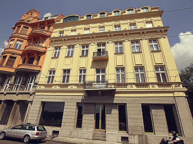 Fasada u Karađorđevoj, nakon obnove