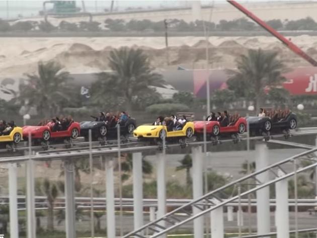 Ferarijev park u Abu Dabiju proglašen za najbolji tematski park na svetu (VIDEO)