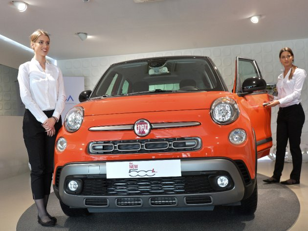 From the presentation of the new Fiat 500L model