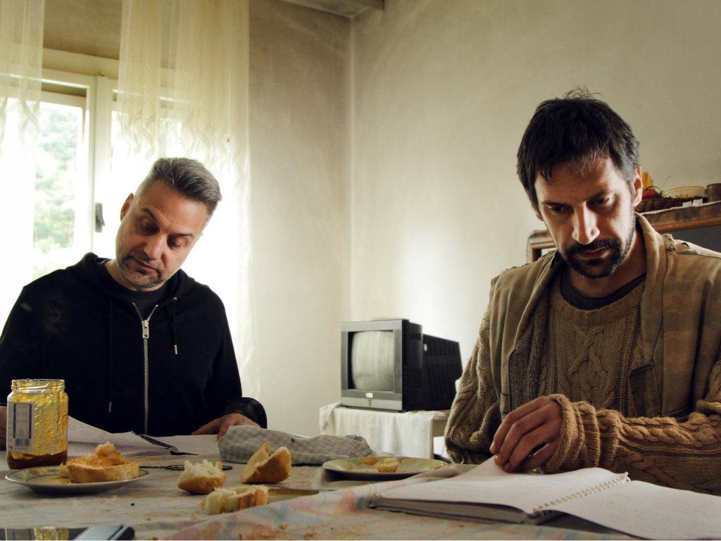Pala prva klapa za film Otac Srdana Golubovića