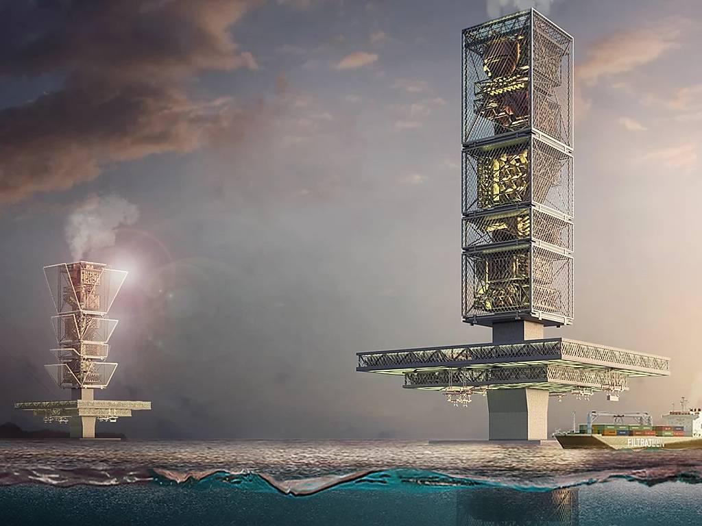 Američki arhitekta osmislio plutajući neboder koji čisti okeane od plastike