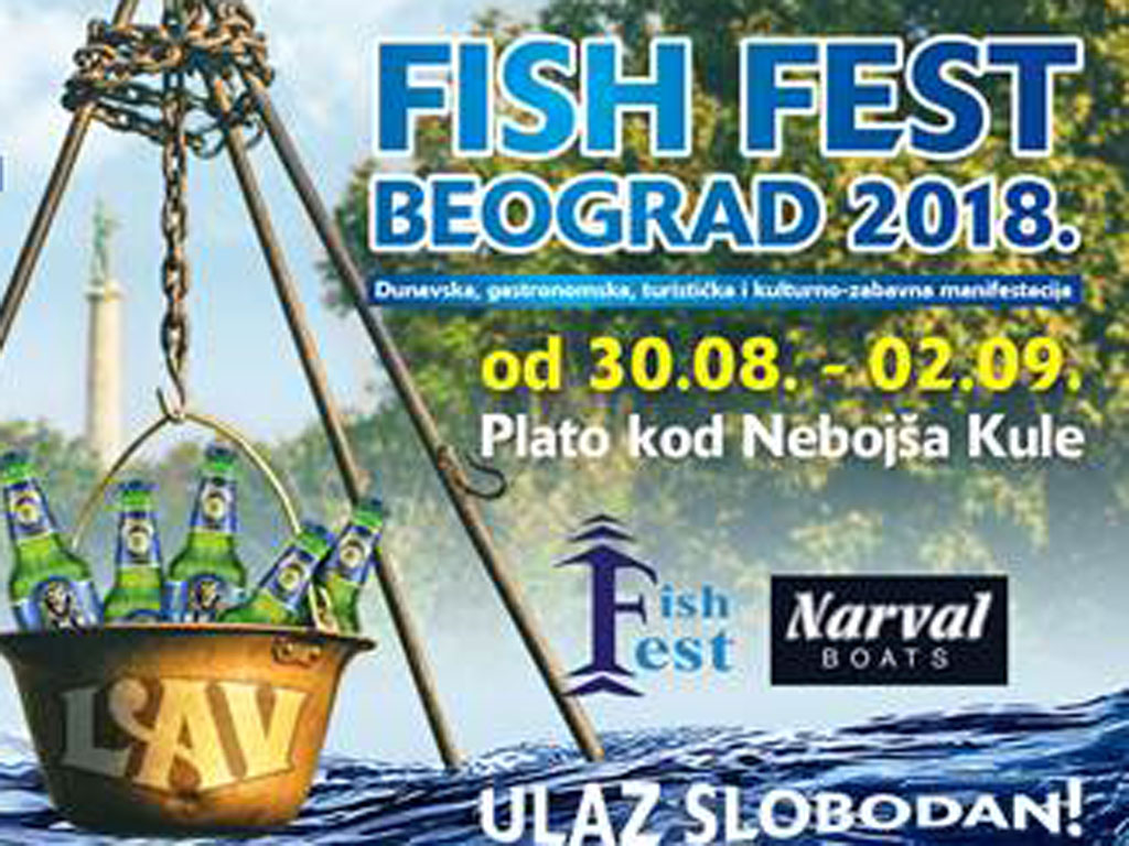 Fish fest od 30. avgusta do 2. septembra u Beogradu