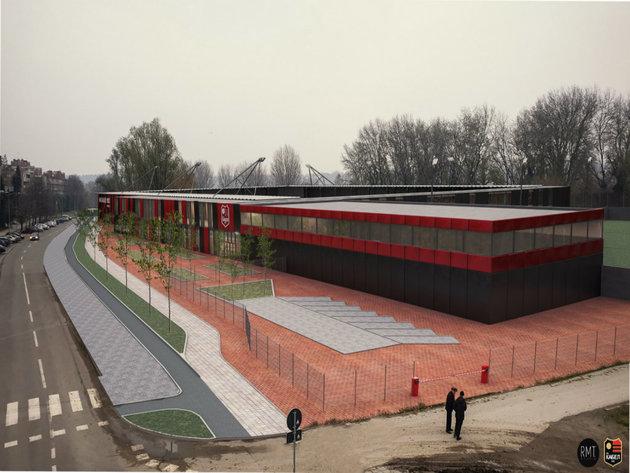 FK Kabel iz Novog Sada dobija moderan stadion - Sportski kompleks sa fudbalskom akademijom do 2021. (FOTO)