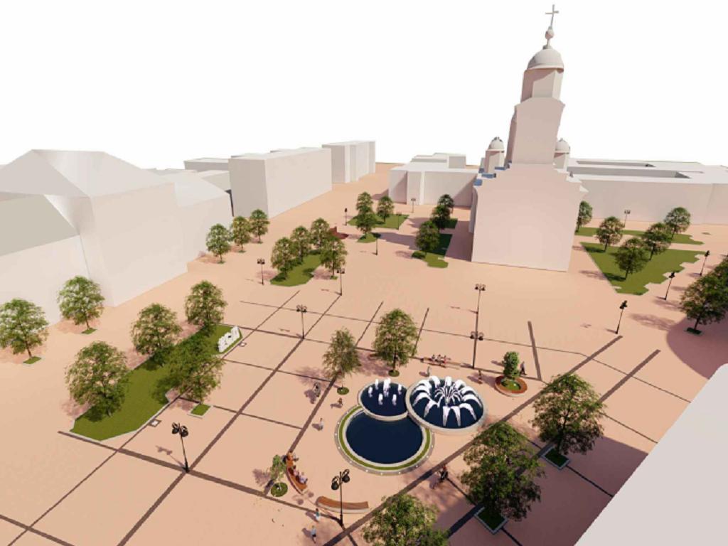 Uređuje se Trg Republike u Smederevu - Raspisan tender za gradnju fontane (FOTO)