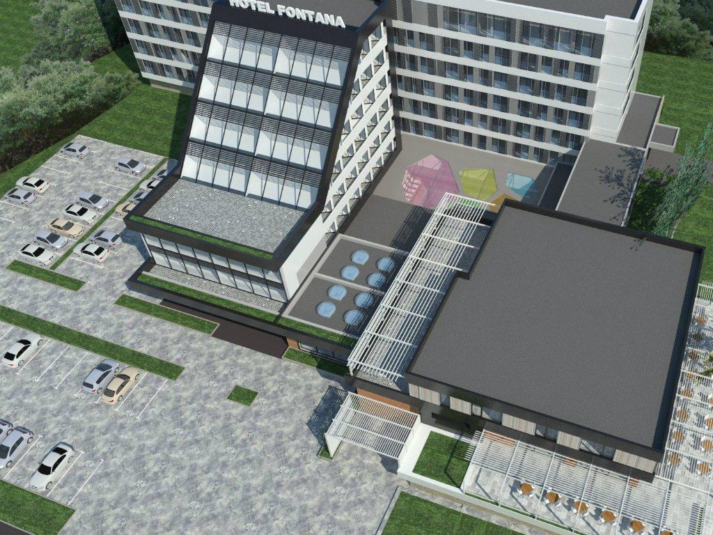 Novi izgled hotela Fontana u Vrnjačkoj Banji