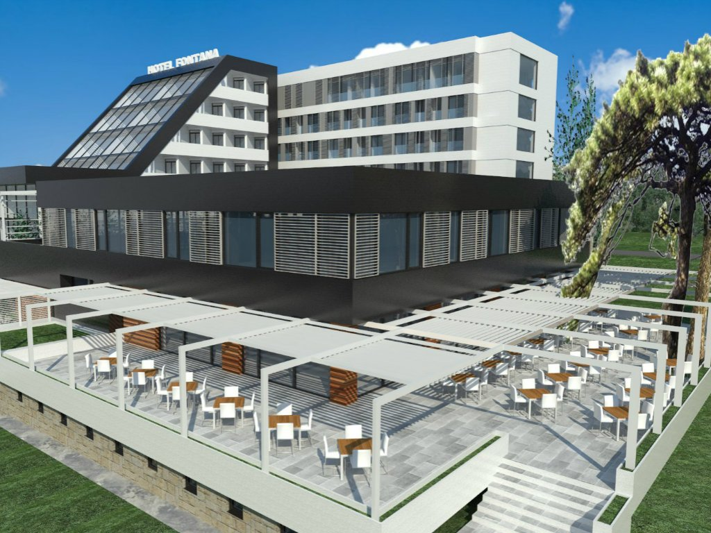 Opening of Hotel Fontana in Vrnjacka Banja scheduled for June – EUR 7 million invested in reconstruction