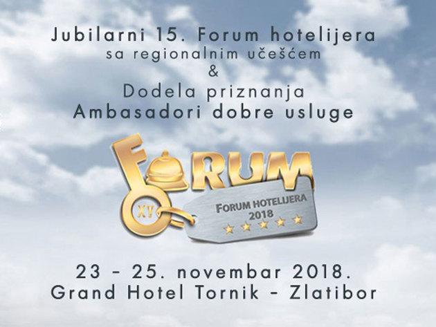 Forum hotelijera od 23. do 25. novembra na Zlatiboru