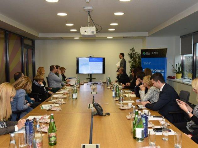 Sa predstavljanja rezultata istraživanja Foruma za društveno odgovorno poslovanje