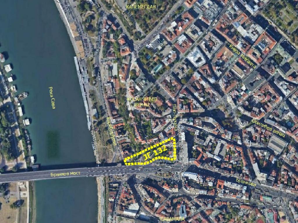 Kod Brankovog mosta gradiće se podzemna garaža na 10 polunivoa - U planu i novi trg kod Obeliska (FOTO)
