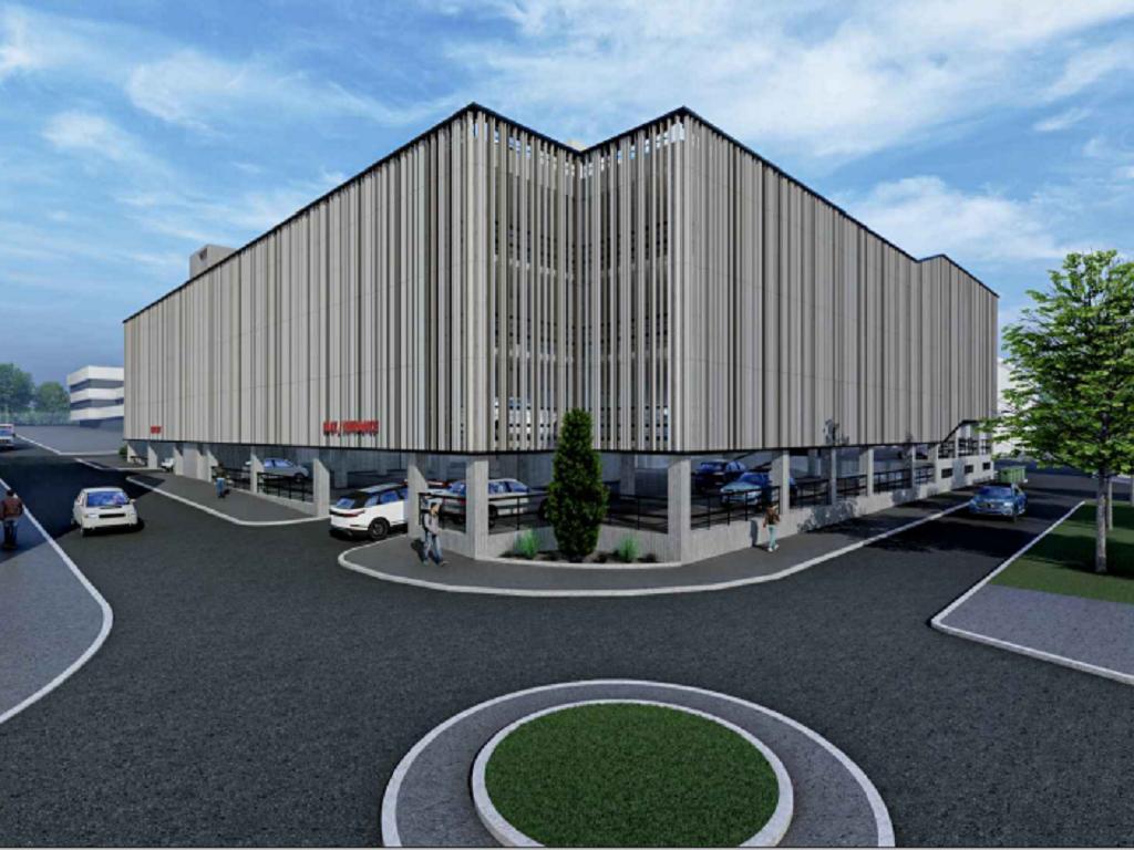 U kompleksu Kliničkog centra Srbije gradiće se garaža na šest nivoa, sa 639 parking mesta - Evo kako će izgledati (FOTO)