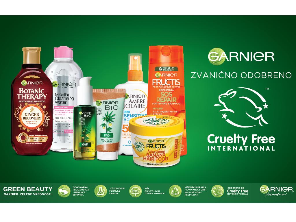 Garnier dobio zvaničnu potvrdu organizacije Cruelty Free International