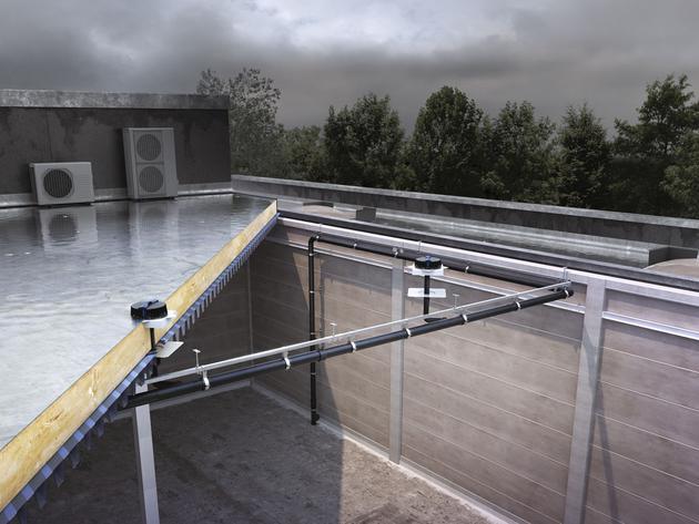 Umesto oluka, sistem Pluvia, pogodan i za ravne krovove (FOTO)