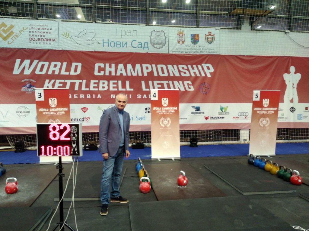 Svetsko prvenstvo u girevoj sportu u Novom Sadu - Takmičenje u tradicionalnom ruskom sportu