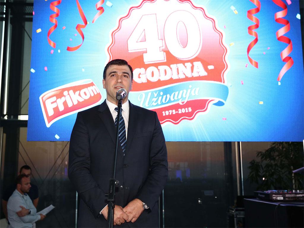 Gojko Đošić, generalni direktor Frikom a.d. - Slatko osveženje na prvom mestu
