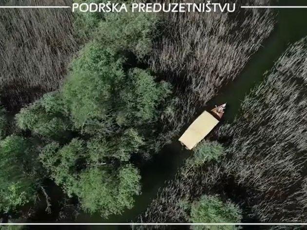 Golden Frog Boat razvija sportsko-rekreativni turizam na Skadarskom jezeru - Drvenim čamcima i kajacima istražite najljepše plaže, skrivena ostrva i ribarska sela ovog nacionalnog parka (VIDEO)