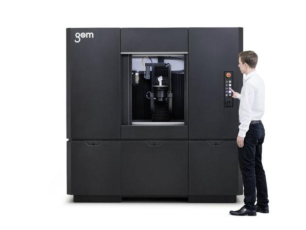 Priznanje za kompaniju TOPOMATIKA na Sajmu tehnike u Beogradu - Predstavljen GOM CT za industrijsku kompjuterizovanu tomografiju