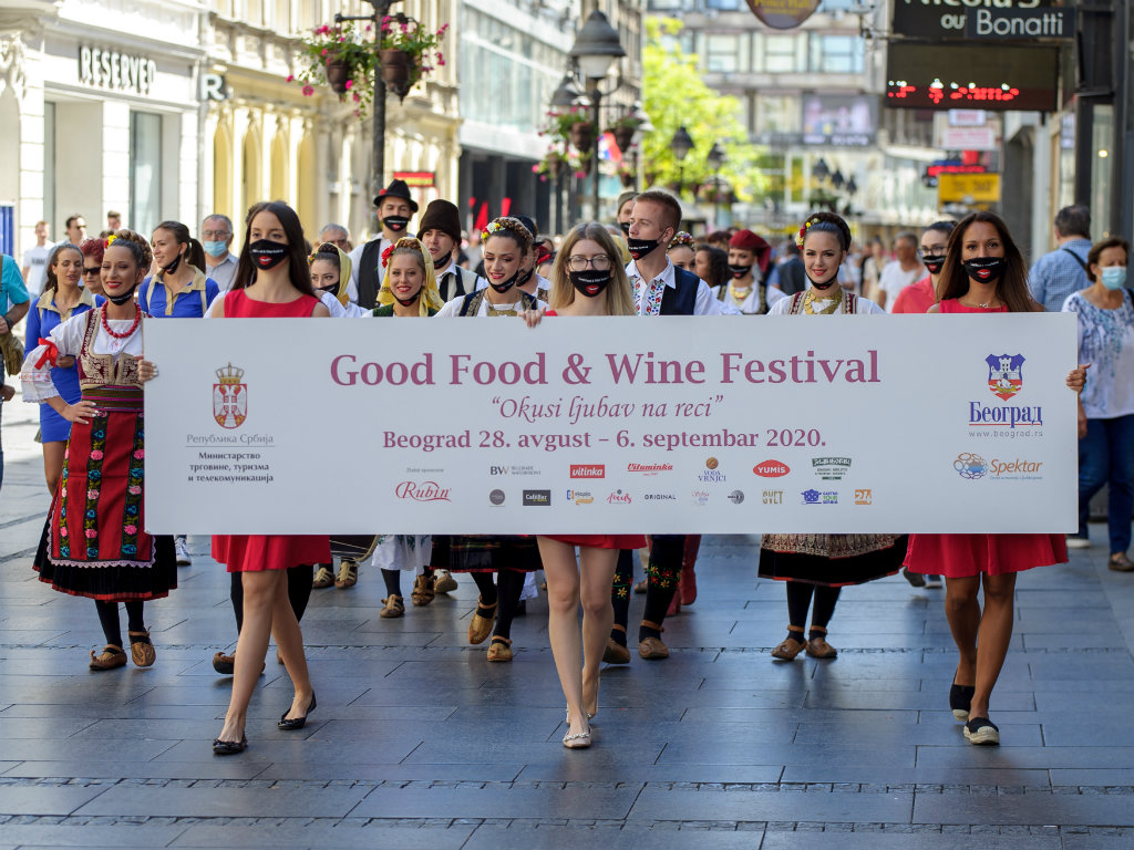 Održan vinski karneval u okviru  Good Food & Wine Festivala - Centralni događaj 5. septembra
