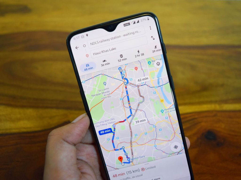 Google mape menjaju navike - Do cilja ekološkim putem
