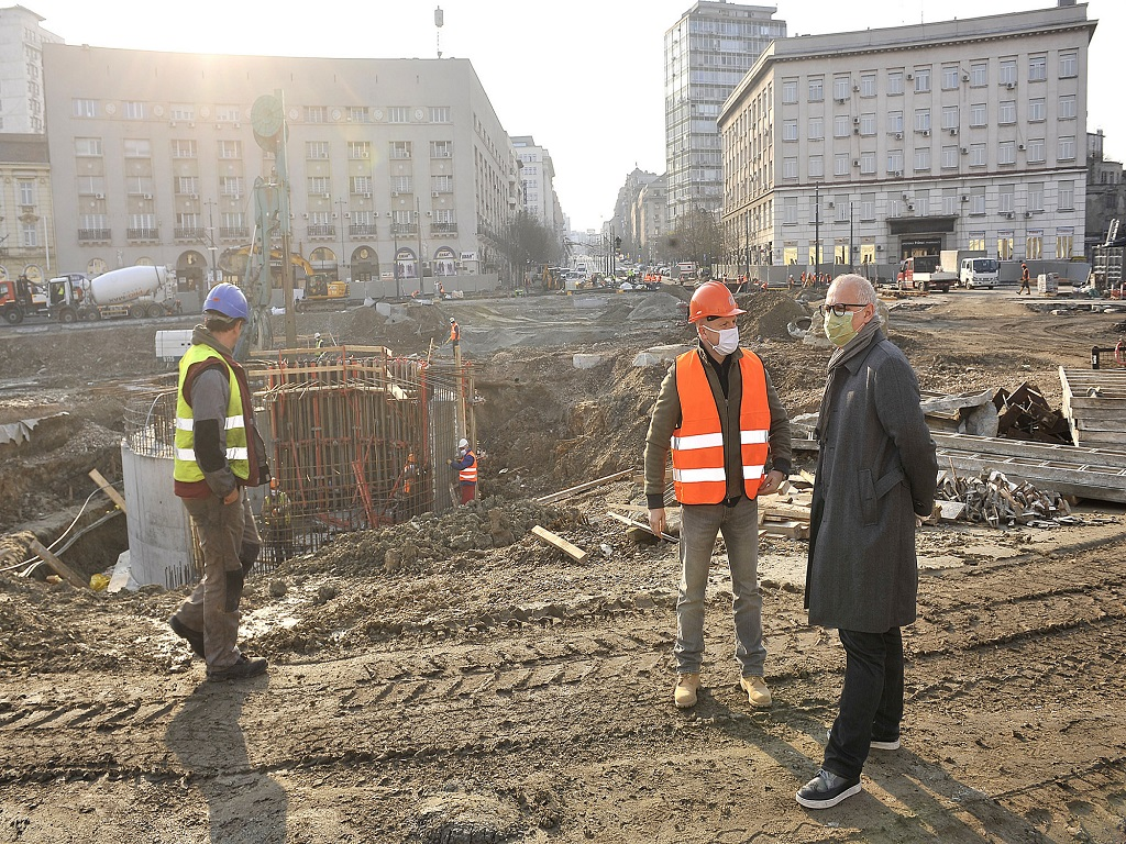 VESIĆ: Infastrukturni projekti koje finansira Grad Beograd se nastavljaju