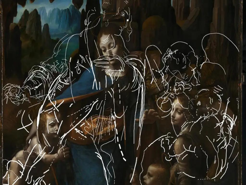 Nakon 500 godina otkriven crtež skriven ispod djela Leonarda da Vinčija