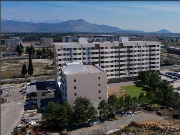 Podgorica dobija novi kompleks površine 11.500 m2 - U tri lamele gradiće se 168 stanova i 28 poslovnih prostora (FOTO)