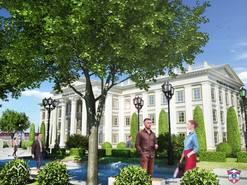 Završen glavni projekat Gradske kuće Sokolac