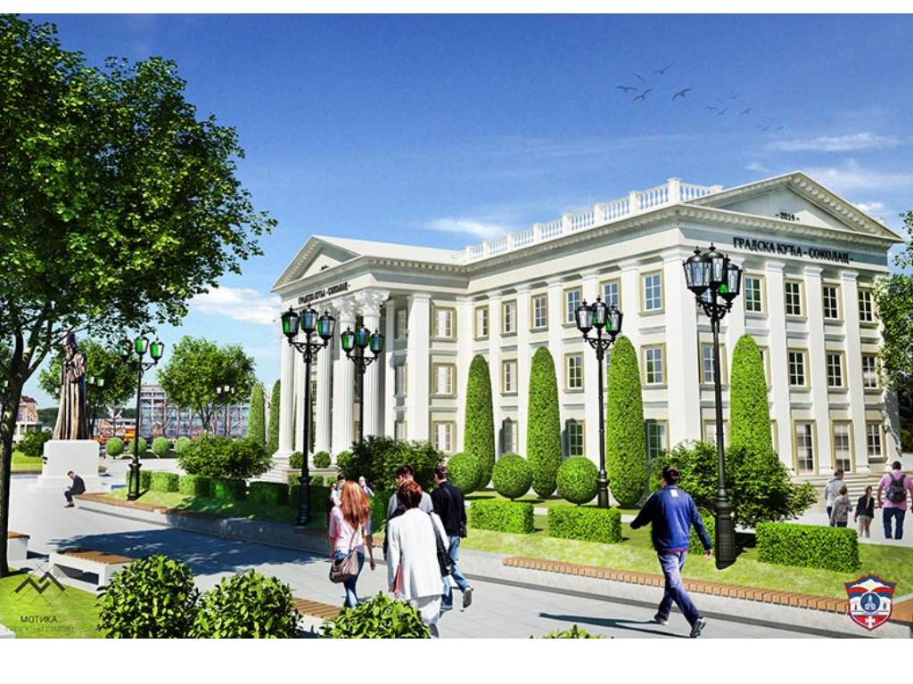 Izgradnja multifunkcionalne Gradske kuće u neoklasičnom stilu (FOTO)