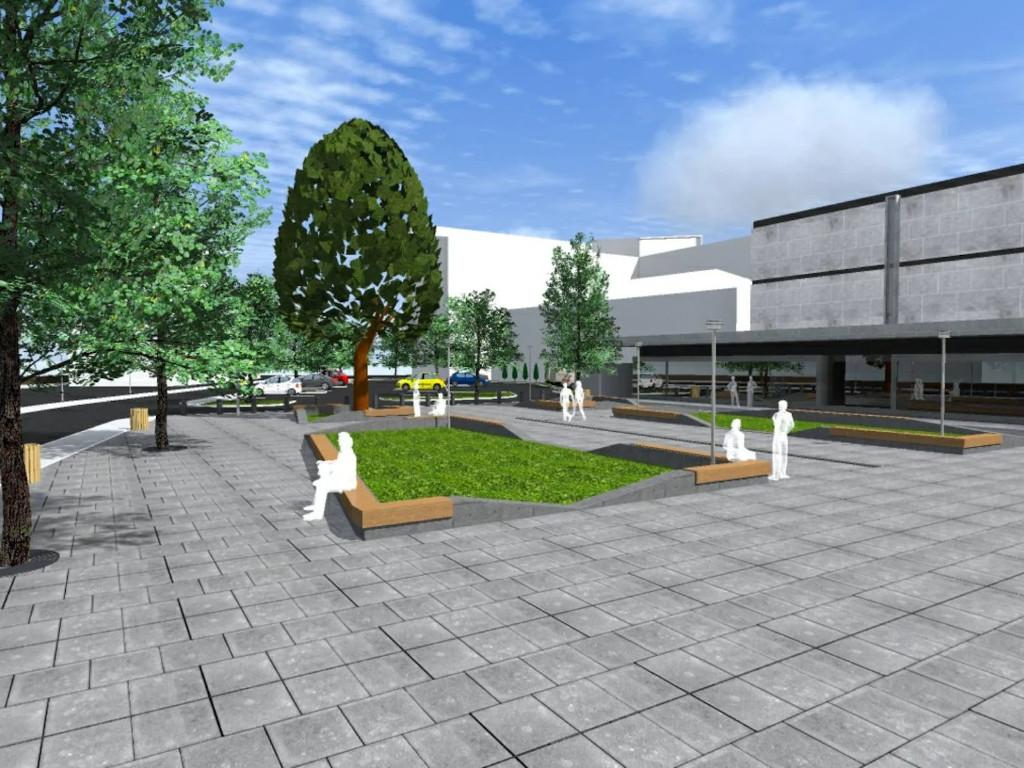 Centralni trg u Gradišci u novom ruhu - Završetak radova predviđen za kraj novembra (FOTO)