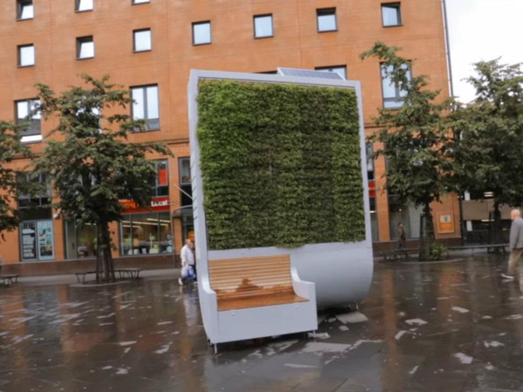 Gradsko drvo - Mahovinom protiv zagađenja vazduha u gradovima (VIDEO)