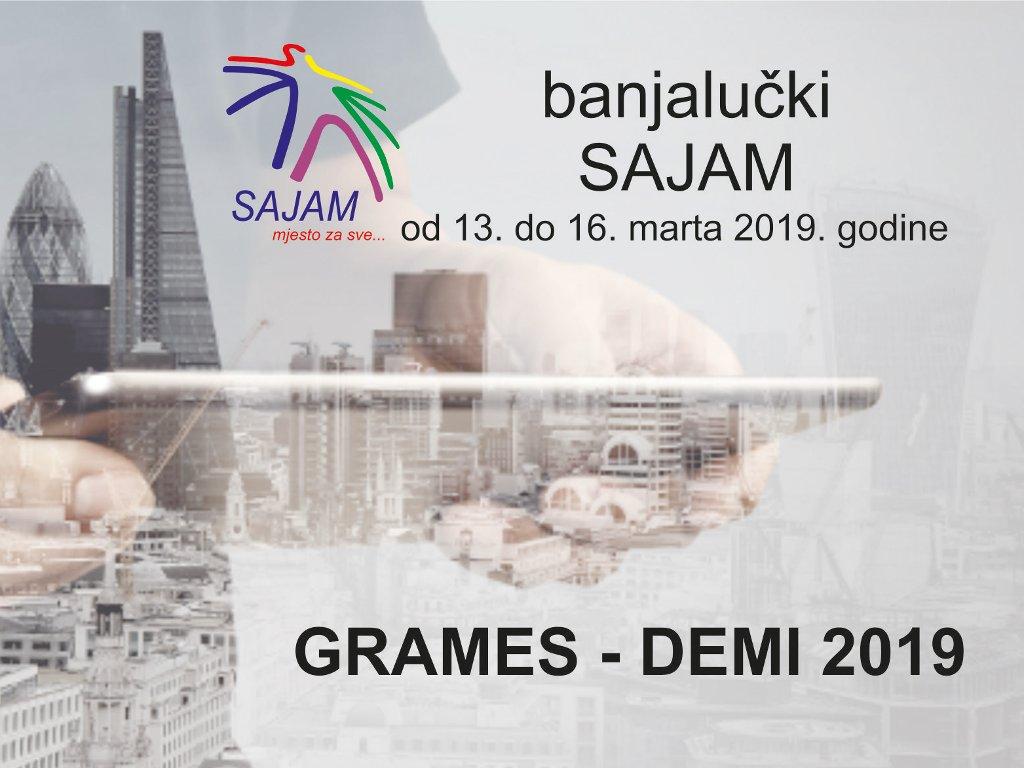 Rok za prijavu izlaganja na sajmu građevine Grames-Demi 2019 u Banjaluci ističe 6. marta
