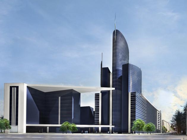 Banjaluka dobija ekskluzivni stambeno-poslovni kompleks Grand Trade Centar - Kraj izgradnje predviđen za decembar 2020. (FOTO)