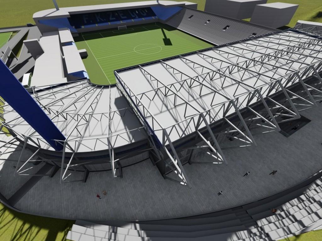 Gradnja južne tribine stadiona na Grbavici mogla bi početi 2020.