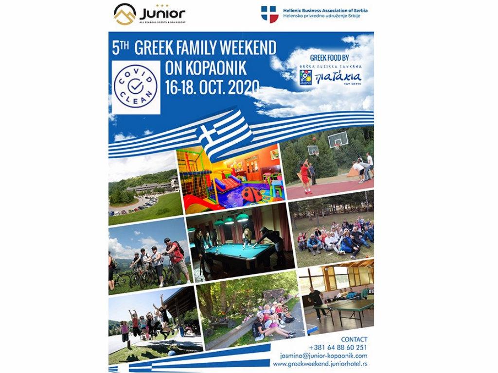 Grčki porodični vikend održan peti put na Kopaoniku