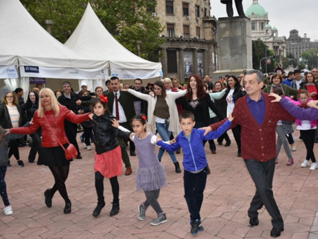 Održan Grčki vikend u Beogradu - Posetioci zaigrali i sirtaki