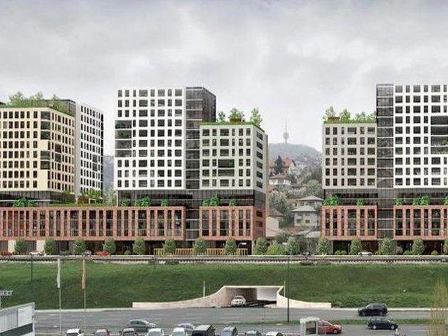 Izgradnja kompleksa Green City u Sarajevu trebala bi početi na proljeće