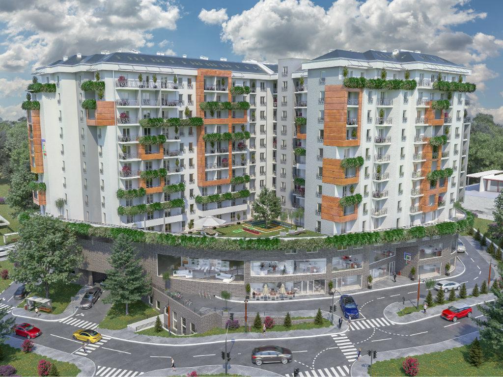 Green Residence Beograd - Stanovi sa pogledom na Dunav