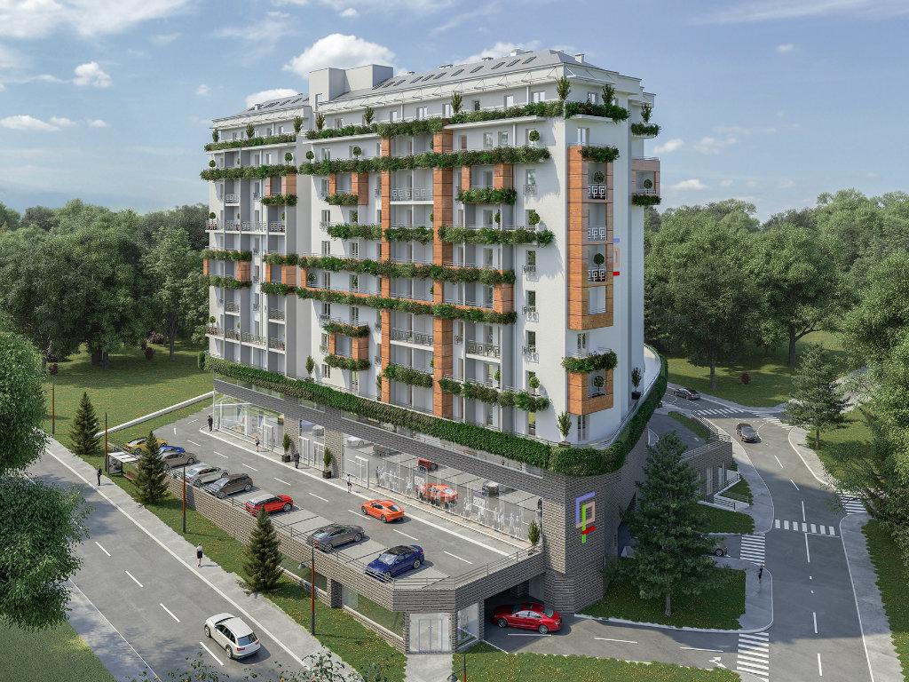 Green residence, zelena oaza u srcu prestonice kreirana po meri stanovnika metropole