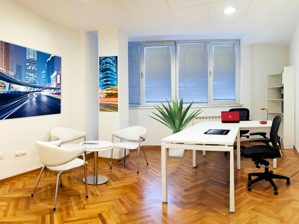 """Kancelarijski prostor u centru Beograda - """"Halldis Lounge"""" privremeno rešenje za sve potrebe preduzeća"""