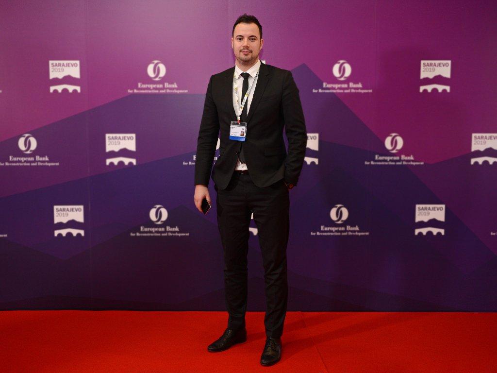 Haris Mujanović, account direktor u agenciji Via Media - Organizacija Godišnje skupštine EBRD-a najkompleksniji događaj u posljednjih 20 godina