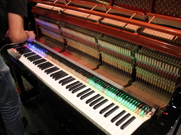 The hybrid piano has been fully developed by Serbian engineers
