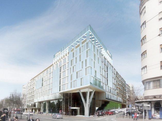 Hilton u Beogradu biće hotel najveće kategorije i imaće 8 spratova