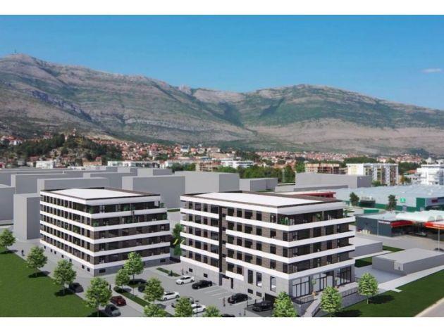 U martu 2023. gotov stambeno-poslovni kompleks Horizont u Trebinju sa više od 100 stanova (FOTO)