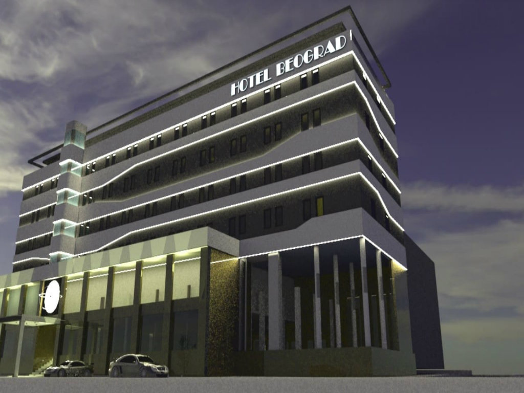 Hotel Beograd ponovo će biti simbol Leskovca - Novi vlasnici ruiniranom zdanju vraćaju stari sjaj (FOTO)