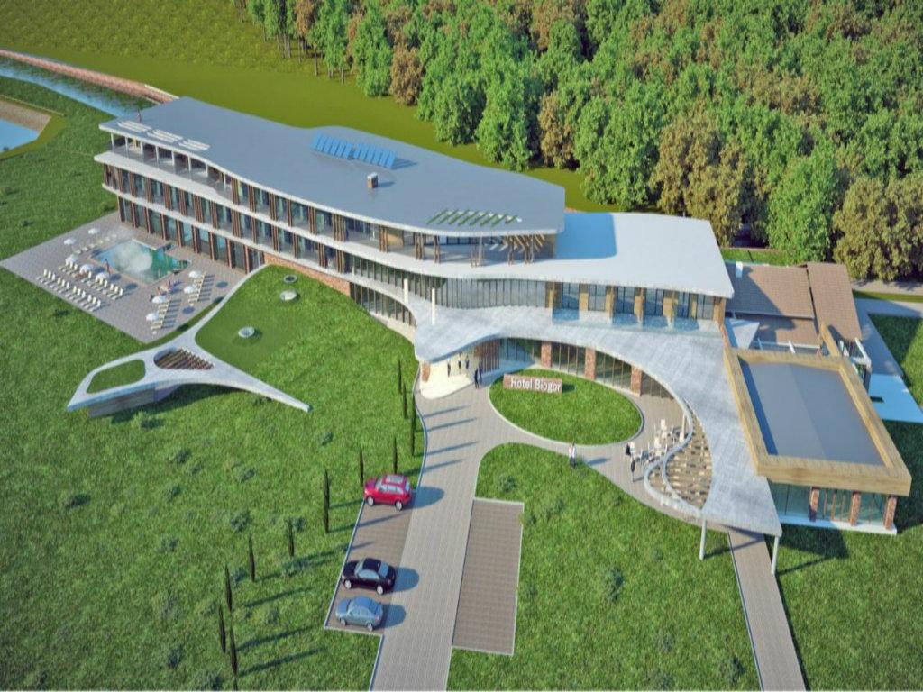 Luksuzni hotel Biogor gradi se u Sisevac termama kod Paraćina - Apartmani sa đakuzi kadama na terasama i saune s pogledom na prirodu (FOTO)