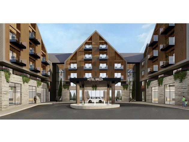 Planirani izgled hotela