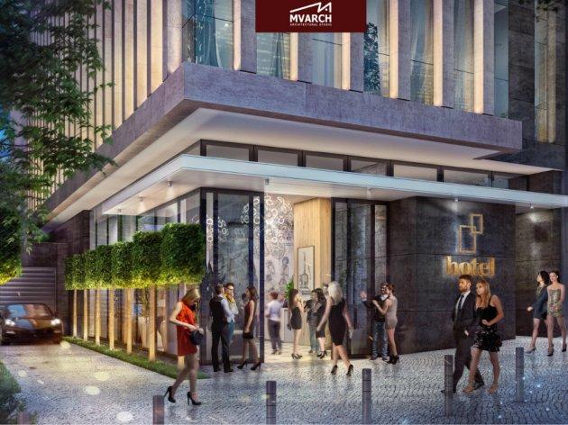 Neues Viersternehotel in Belgrad - Hotel mit Schwimmbad, Kongresssaal und 38 Zimmer in der Jug Bogdanova Straße
