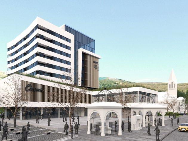 Projekat hotela Lipa u Travniku